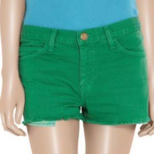 Current/Elliot The boyfriend shorts Green 26 EUC